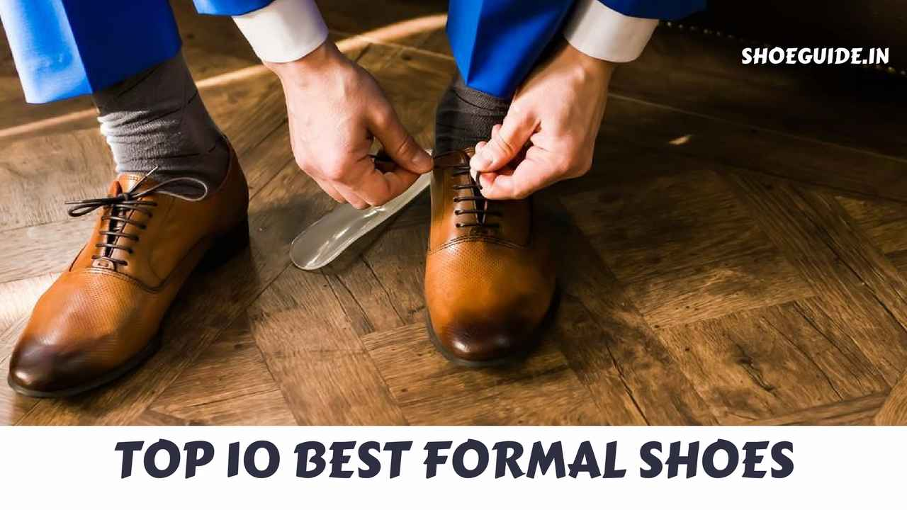 best formal shoe brands in india